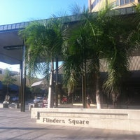 Photo taken at Flinders Square by Azaharry A. on 8/25/2012