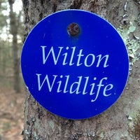 Photo taken at Wilton Wildlife Preserve & Park by Alex C. on 12/26/2011