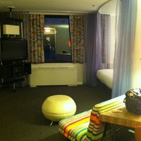 Photo taken at Hotel Helix by Jessica S. on 5/15/2012