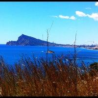 Photo taken at Playa de Mascarat Sur / La Barreta by I Love C. on 4/20/2012
