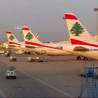 Photo taken at Beirut Rafic Hariri International Airport (BEY) by LUIS A. on 7/23/2012