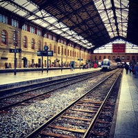 Photo taken at Marseille Saint-Charles Railway Station by Sebastien C. on 7/17/2012