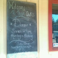 Photo taken at Twin Oaks Restaurant by Michael H. on 10/29/2011