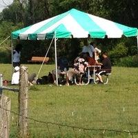 Photo taken at Lyon Oaks Bark Park by Justin T. on 5/20/2012