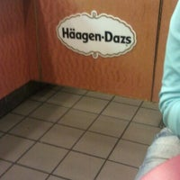 Photo taken at Haagen Dazs Philly by Bruce D W. on 5/16/2012