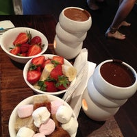 Photo taken at Max Brenner Chocolate Bar by Juls on 8/31/2012