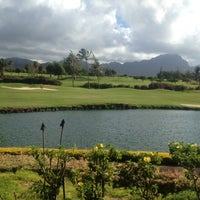 Photo taken at Poipu Bay Golf Course by Bijan S. on 8/20/2012