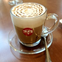 Photo taken at Bravado, Italian Coffee Bar & Lounge by James T. on 5/10/2012