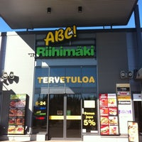 Photo taken at ABC Riihimäki by Antti A. on 4/23/2011