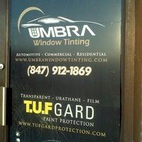 Photo taken at Umbra Window Tinting by Kristin A. on 9/17/2011