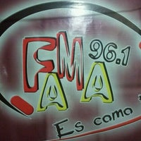 Photo taken at fama 96.1 fm by pedro c. on 1/24/2012
