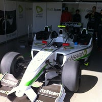 Photo taken at Dubai Autodrome by Ozgur G. on 1/30/2012