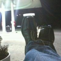 Photo taken at Mobil by Milton on 12/31/2011