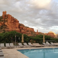 Photo taken at Enchantment Resort by Alicia M. on 5/10/2012