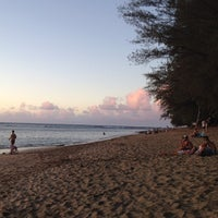 Photo taken at Ke'e Beach by Dan S. on 5/6/2012