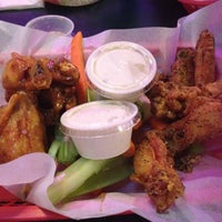 Photo taken at Wing Factory by Brooklyn C. on 4/29/2012