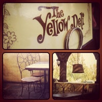 Photo taken at The Yellow Deli by Miles G. on 11/23/2011
