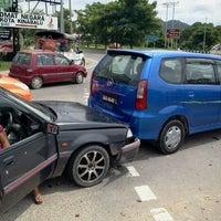 Photo taken at Kampung Berungis by Michael C. on 2/1/2012