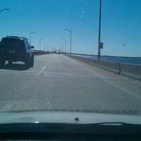 Photo taken at Three Mile Bridge by Robert O. on 1/27/2012