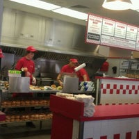 Photo taken at Five Guys by Jonathan B. on 12/4/2011