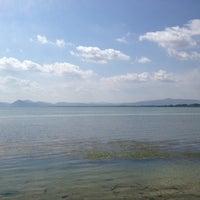 Photo taken at Lago Trasimeno by Tiziana D. on 7/12/2012