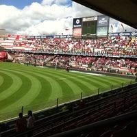 Foto tomada en Estadio Nemesio Diez por Olalla L. el 7/31/2011