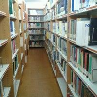 Photo taken at Biblioteca Facultad de Económicas by Estela P. on 9/11/2012