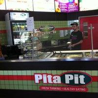 Photo taken at Pita Pit by JanieJian on 4/8/2012