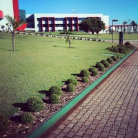 Photo taken at FAG - Faculdade Assis Gurgacz by Rodolfo L. on 4/13/2012