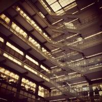 Photo taken at NYU Bobst Library by Jillian L. on 3/12/2012