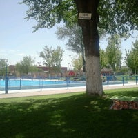 Photo taken at Complejo Deportivo Municipal Ramón y Cajal by Manuel C. on 8/12/2012