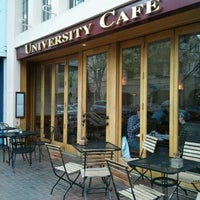 Photo taken at University Cafe by Russell J. on 3/24/2012