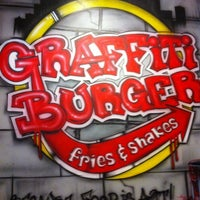 Photo taken at Graffiti Burger by Crystal D. on 2/18/2012