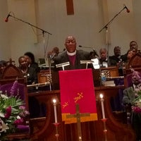 Photo taken at Metropolitan AME Church by Marquise H. on 5/31/2012