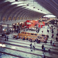 Photo taken at Stockholm Central Railway Station by Pia J. on 5/28/2012
