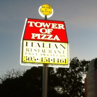 Photo taken at Tower of Pizza by 'Stanley B D. on 3/10/2012