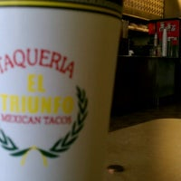 Photo taken at Taqueria El Triunfo by Charles? C. on 8/5/2012