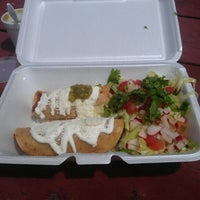 Photo taken at Red Hook Ballfield Food Vendors by Milosz T. on 7/21/2012