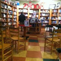 Photo taken at Malaprop's Bookstore/Cafe by Elyse C. on 2/13/2012