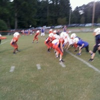 Photo taken at Acworth Warriors Football Field by Sean A. on 9/11/2012