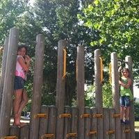 Photo taken at Center Park by Belinda E. on 5/12/2012