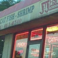 Photo taken at JJ Fish & chicken by Mystie K. on 9/4/2012