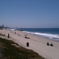 Photo taken at Will Rogers State Beach by Sean C. on 6/30/2012