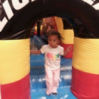 Photo taken at Bounce Realm by Tyffany G. on 4/7/2012