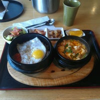 Photo taken at Haroo Korean Homestyle Cuisine by Jess @mini604 on 5/16/2012