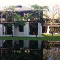 Photo taken at Anantara Chiang Mai Resort & Spa by Yvonne H. on 3/16/2012
