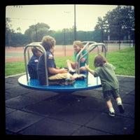 Photo taken at Harmon Park by Josh C. on 5/12/2012