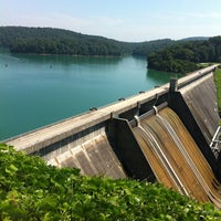 Photo taken at Norris Dam State Park by Joshua W. on 8/2/2011