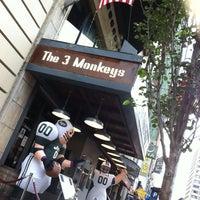 Photo taken at The Three Monkeys by Kieron C. on 9/25/2011
