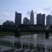 Photo taken at North Bank Park Pavilion by Carrie on 3/16/2012